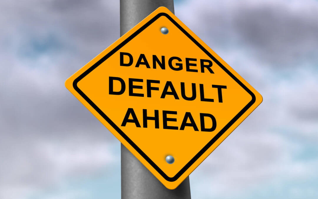 What happens when a default is entered against me in a Florida case?