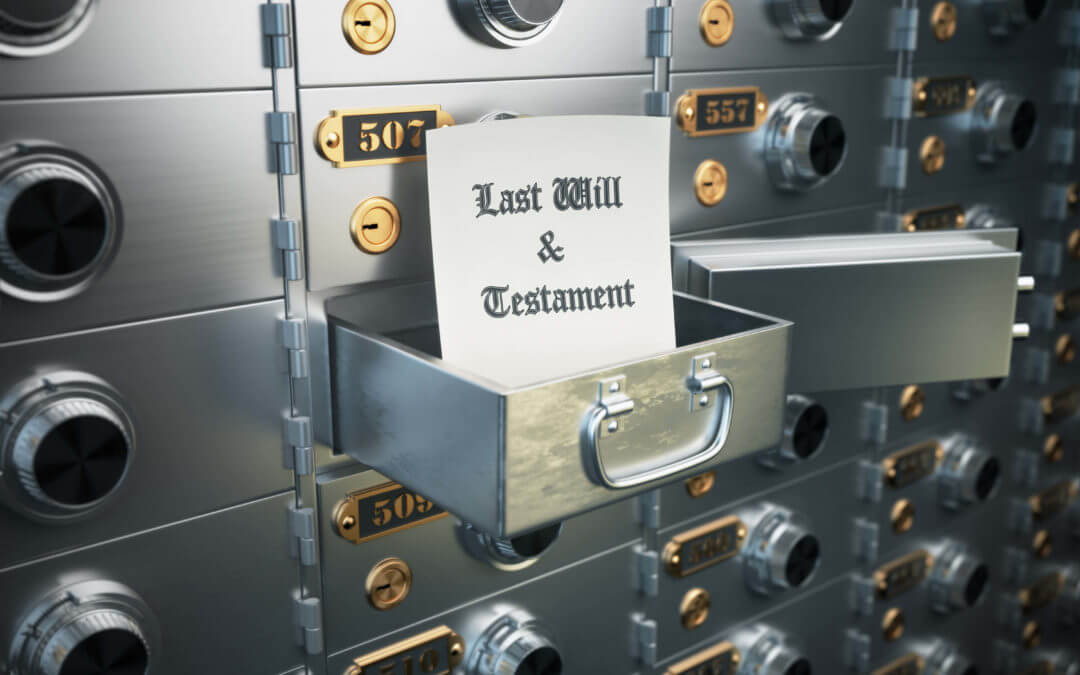 Florida Estate Planning and Probate: Should I keep my will in a safe deposit box?